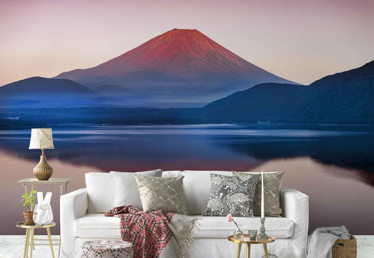 A Quiet Time In Mount Fuji Wallpaper Mural