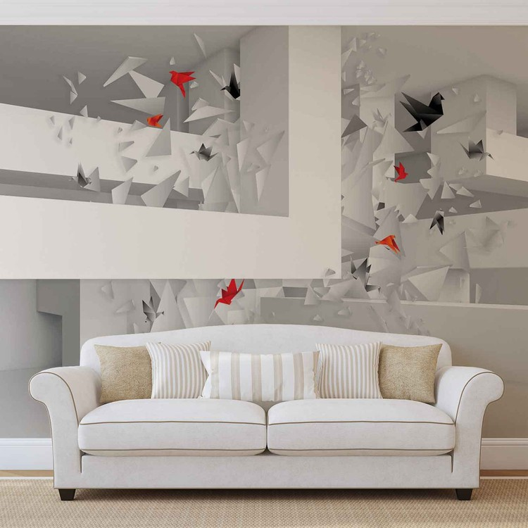 Abstract Art Wallpaper Mural