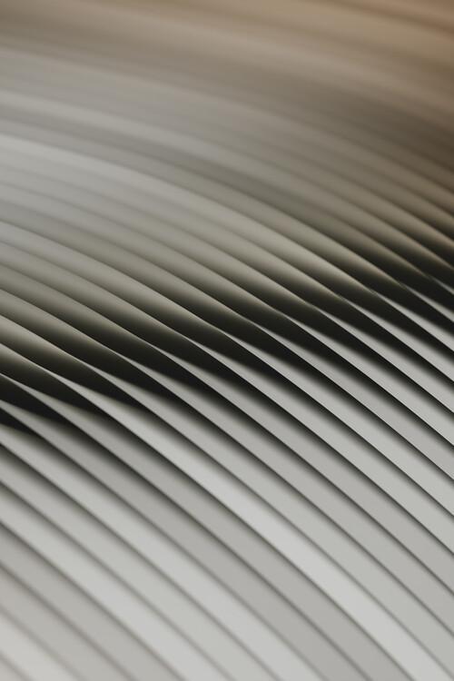 Wallpaper Mural Abstract line beige 2