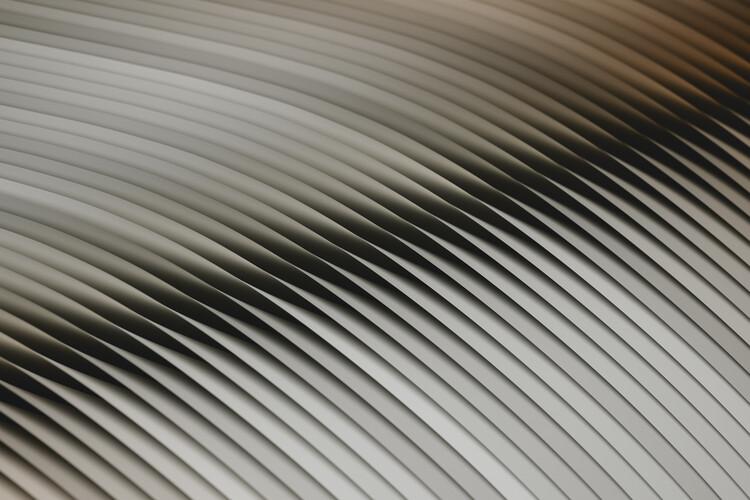 Wallpaper Mural Abstract line beige 3