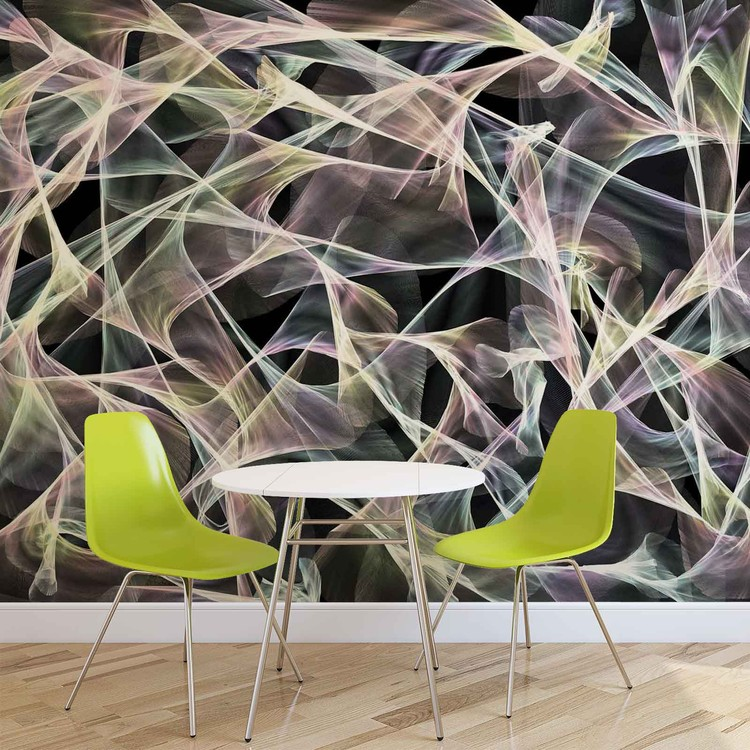 Abstract Modern Art Wallpaper Mural