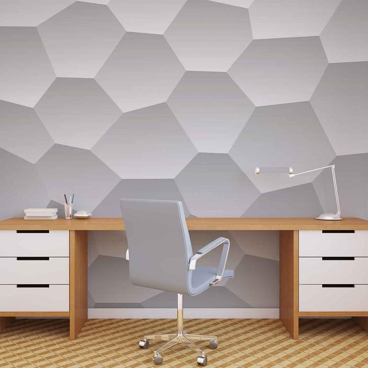 Abstract Modern Monochrome Design Wallpaper Mural