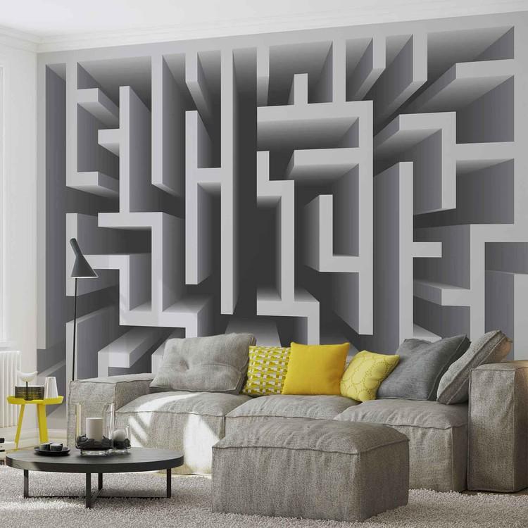 Abstract Pattern Modern Wallpaper Mural