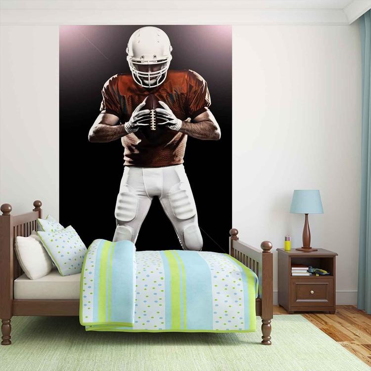 American Football Player Wallpaper Mural