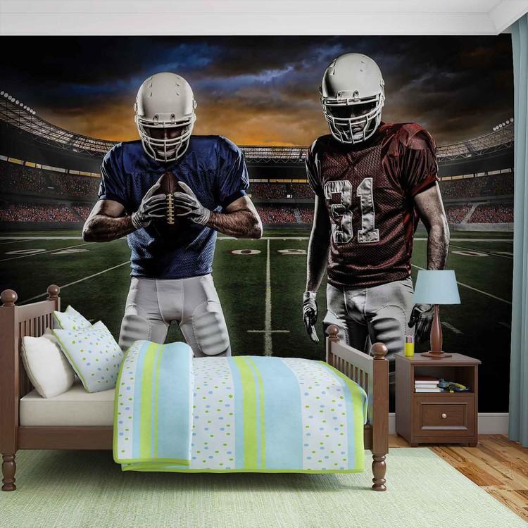 American Football Stadium Wallpaper Mural