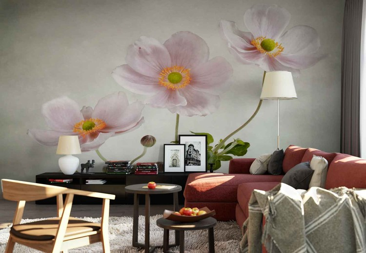 Anemones Wallpaper Mural