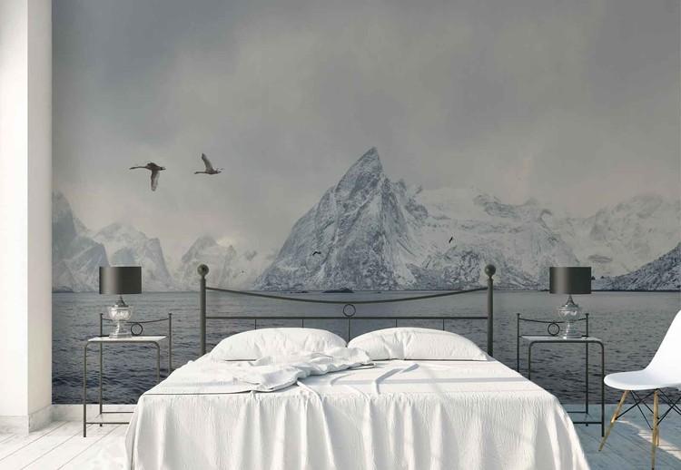 Arctic Flight Wallpaper Mural