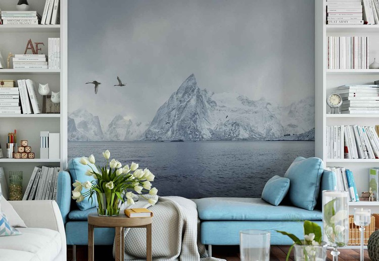 Arctic Flight Wallpaper Mural