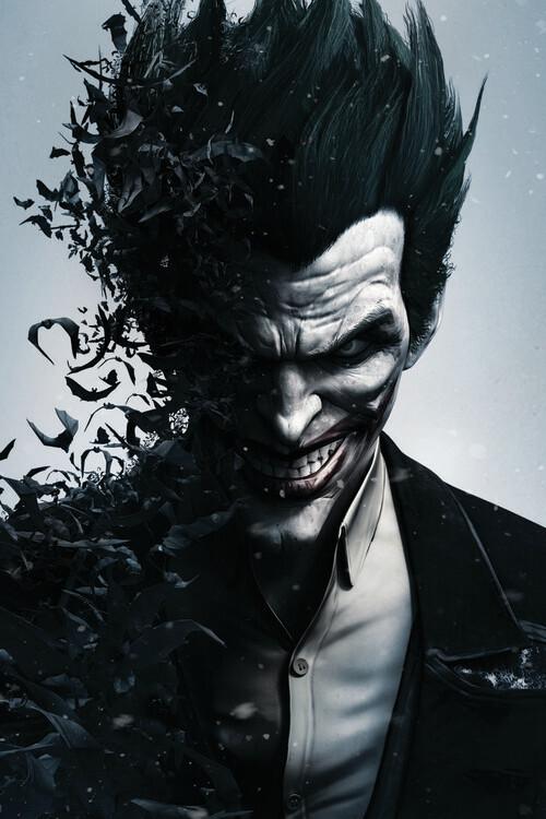 Wallpaper Mural Batman Arkham - Joker