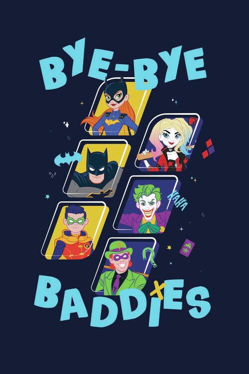 Wallpaper Mural Batman - Baddies
