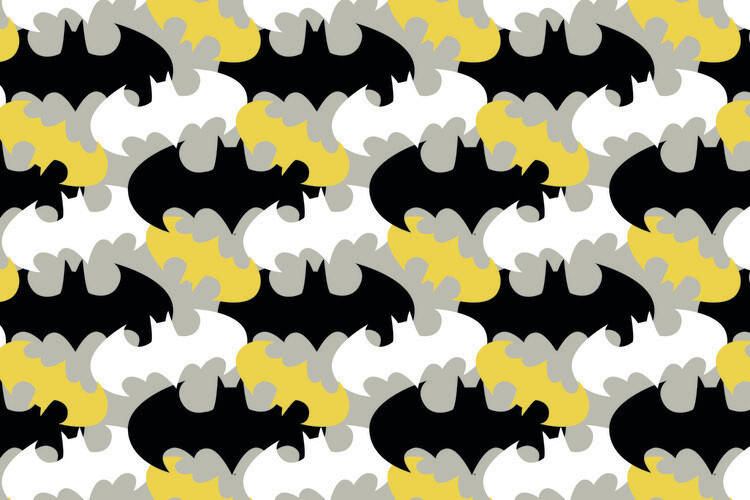Wallpaper Mural Batman - Logo
