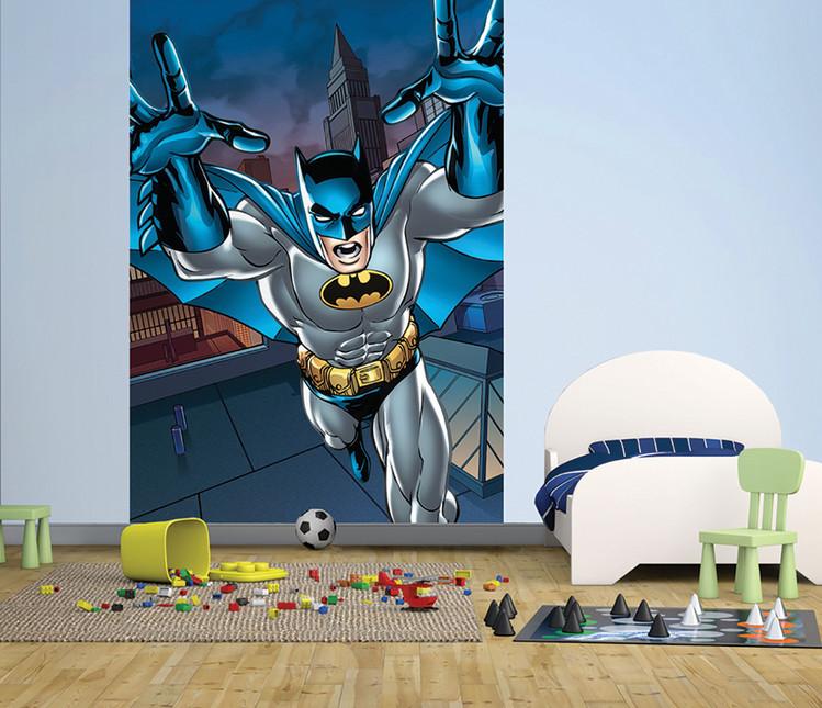 Batman - Roof Wallpaper Mural