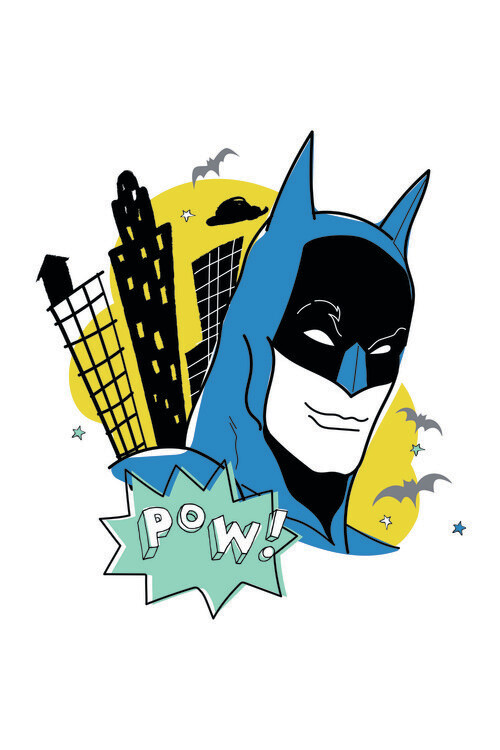 Wallpaper Mural Batman - Sketch art