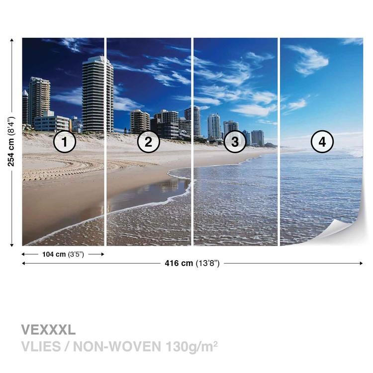Beach Gold Coast Wallpaper Mural