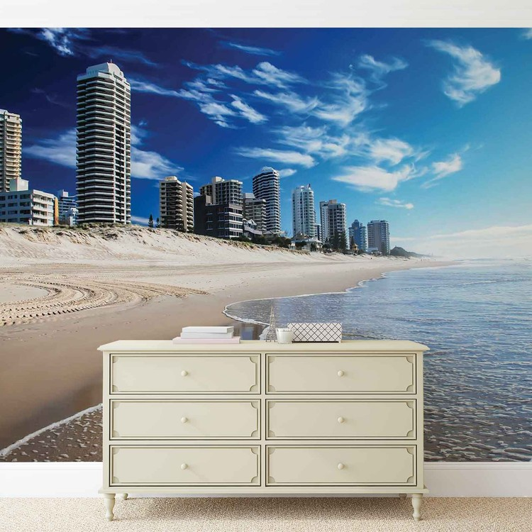 Beach Gold Coast Wallpaper Mural