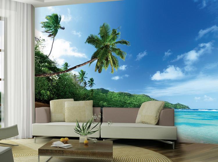 Beach - Palm Wallpaper Mural