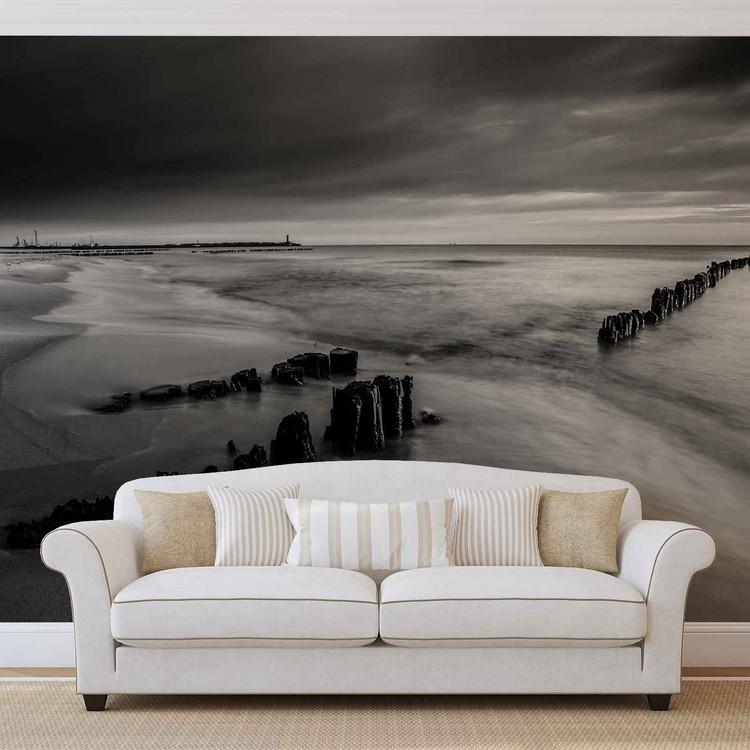 Beach Scene Wall Paper Mural Buy at Abposterscom