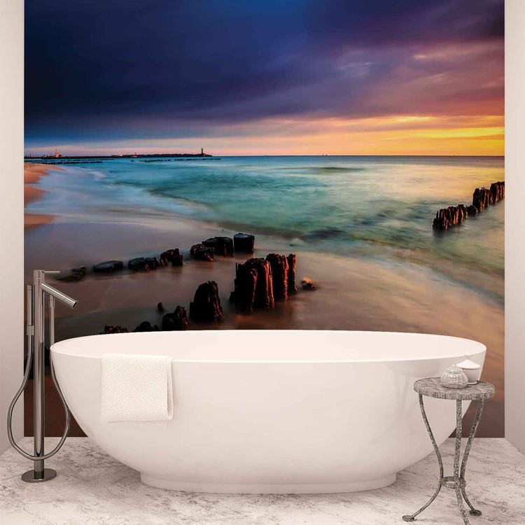 Beach Scene Wall Mural Buy At Europosters