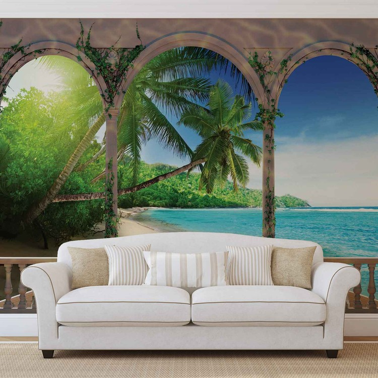 Beach Tropical Wall Paper Mural Buy at EuroPosters