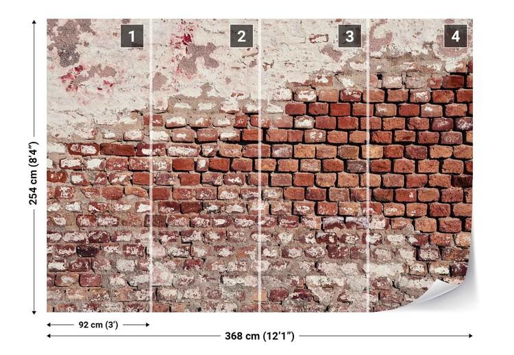 Beautiful Brick Wallpaper Mural
