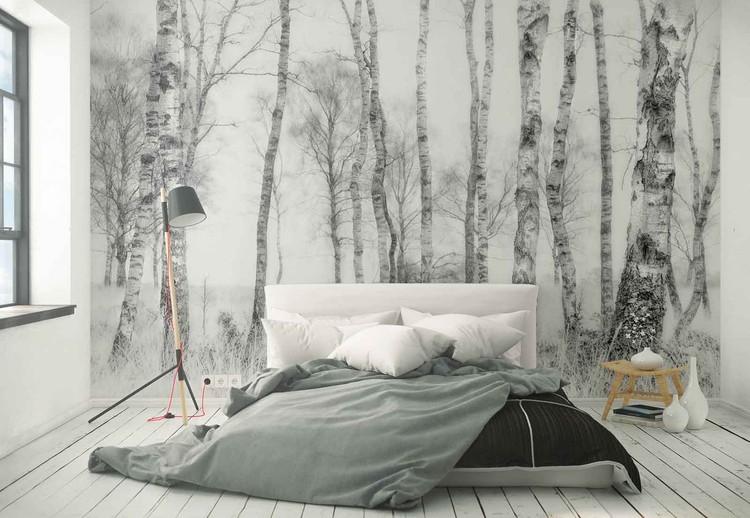 Black And White Wallpaper Mural
