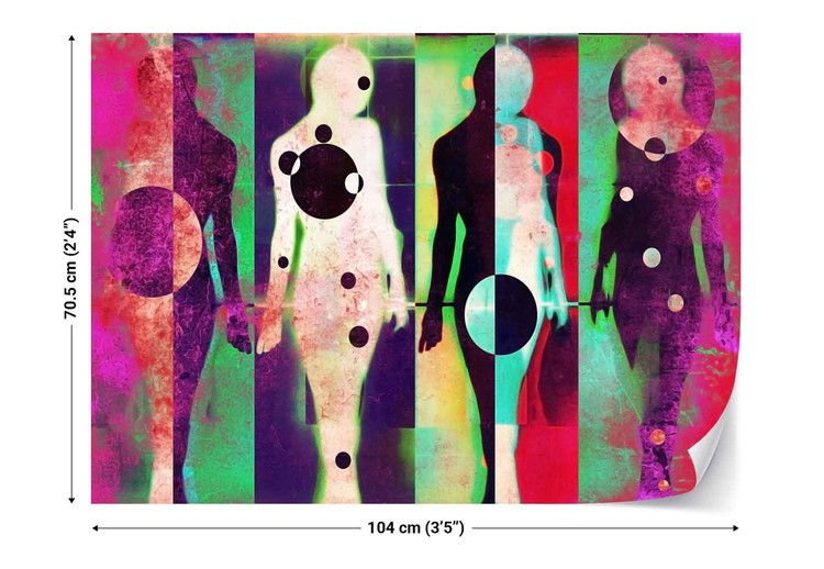 Body Language Wallpaper Mural