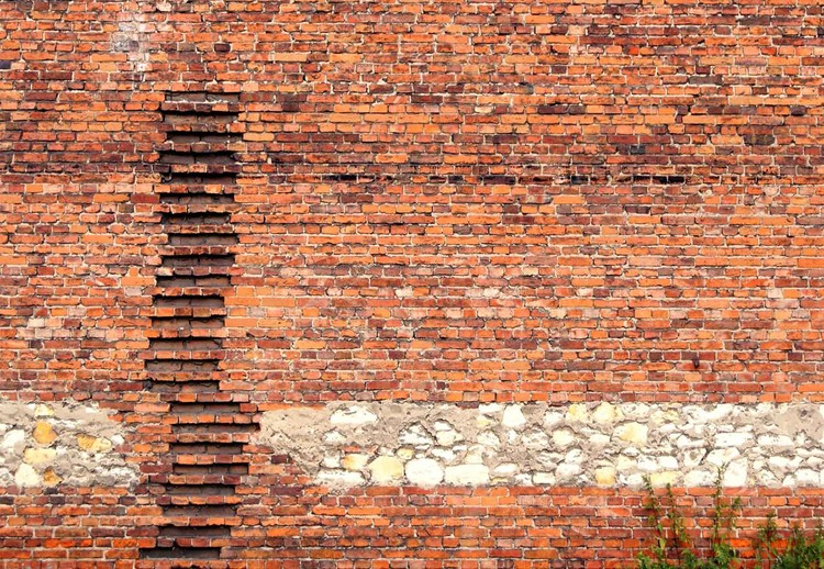 Brick Ladder Wallpaper Mural