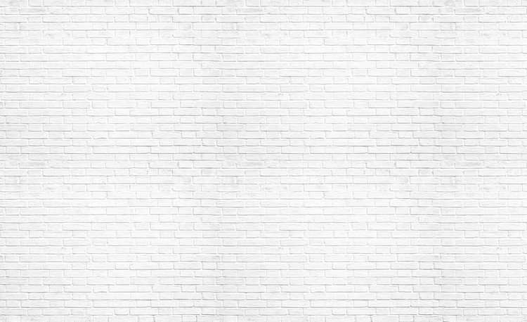 Brick Wall White Wall Paper Mural Buy at EuroPosters