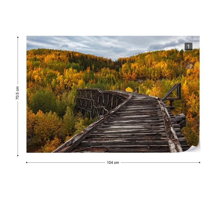 Bridge To Nowhere Wallpaper Mural