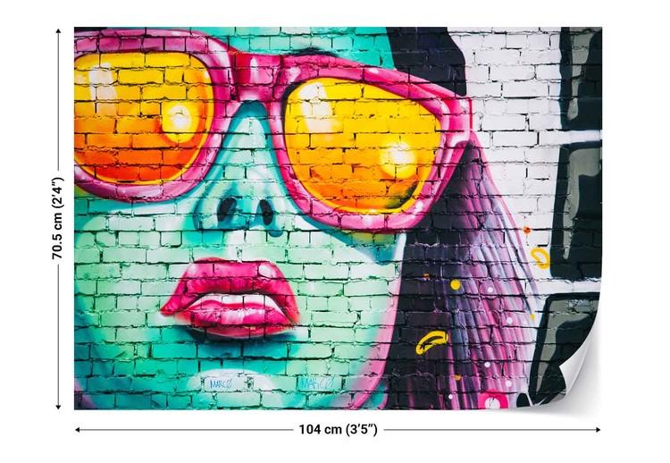 Bright Bricks Wallpaper Mural