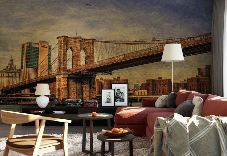 Brooklyn Bridge Wallpaper Mural