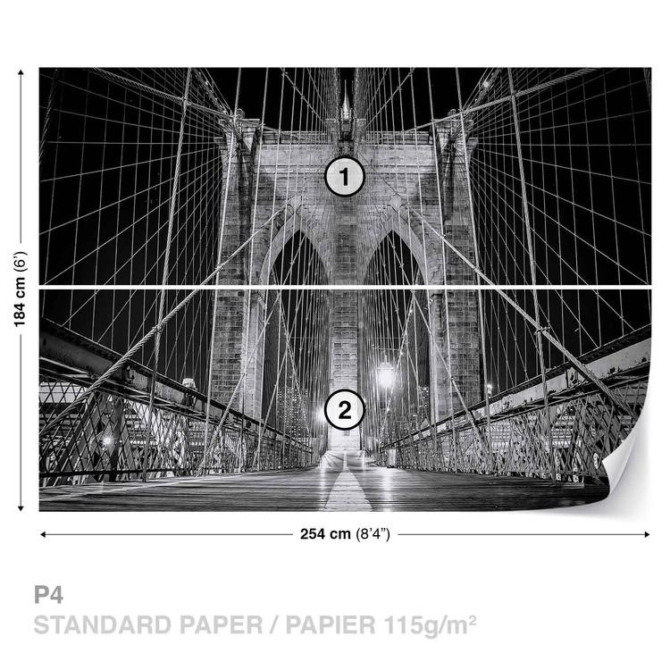 Brooklyn Bridge New York Wallpaper Mural