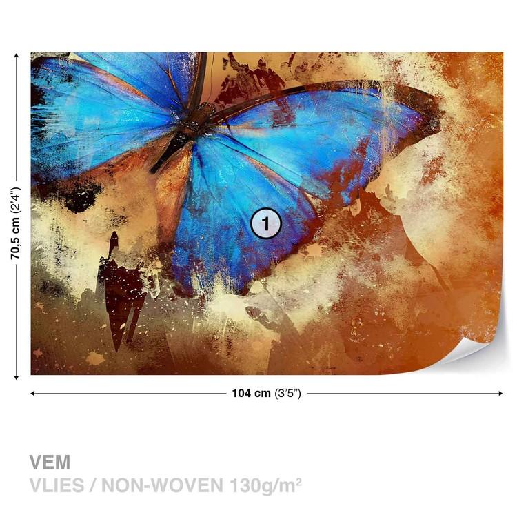 Butterfly Art Wallpaper Mural