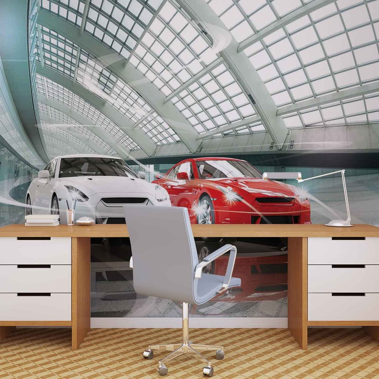 Cars Transport Wallpaper Mural
