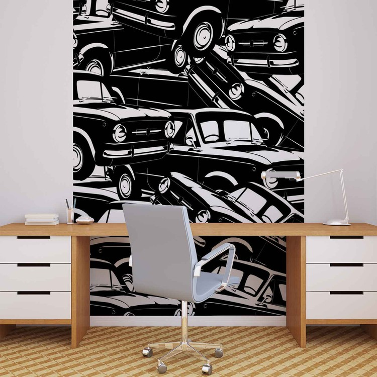 Cars Vintage Wallpaper Mural