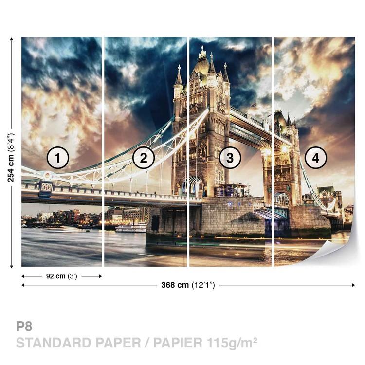 City London Tower Bridge Wallpaper Mural