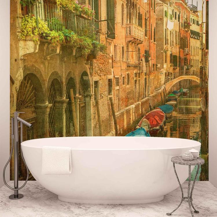 City Venice Canal Wallpaper Mural
