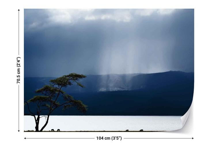 Clouds Over Lake Naivasha Wallpaper Mural