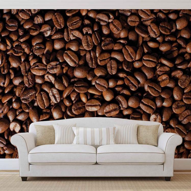 Coffee Beans Wallpaper Mural
