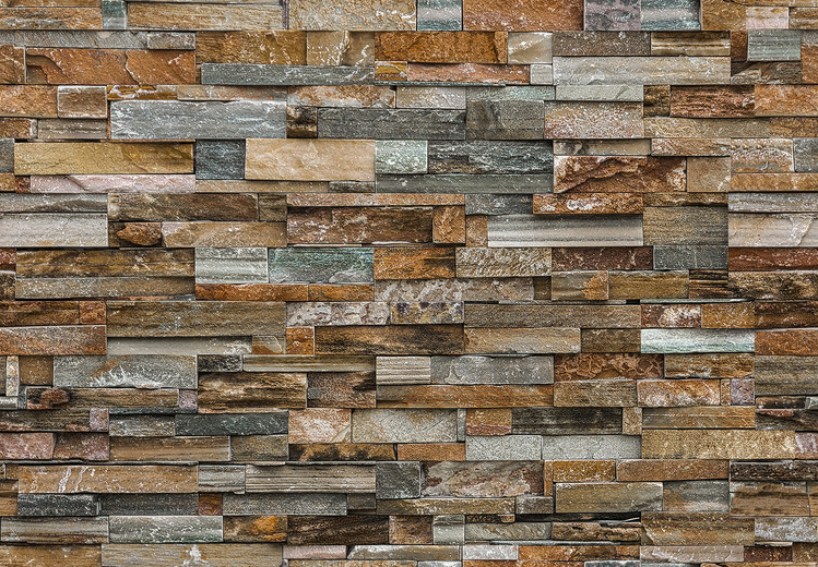 Colorful Stone Wallpaper Mural