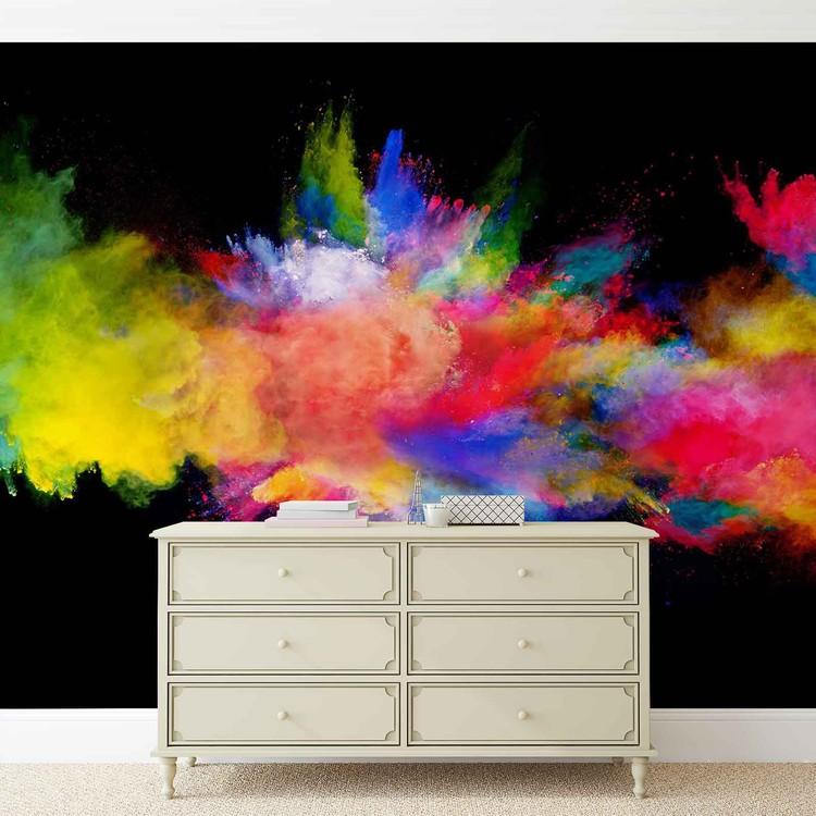 Colour Explosion Wallpaper Mural