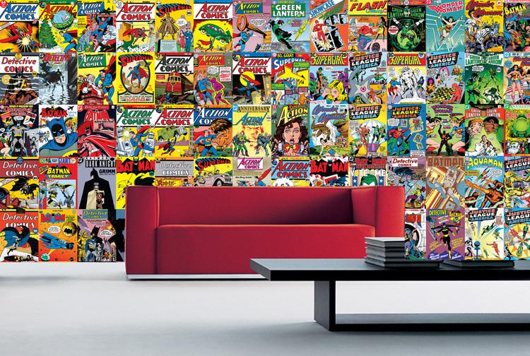 Comics Wallpaper Mural