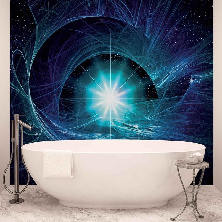 Cosmic Star Abstract Wallpaper Mural