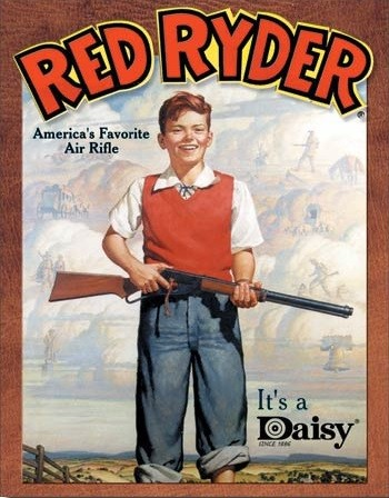 Daisy red Ryder Wall Mural