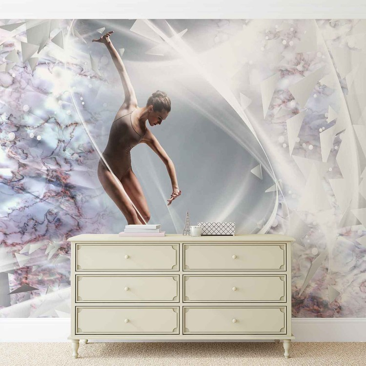 Dancer Abstract Wallpaper Mural