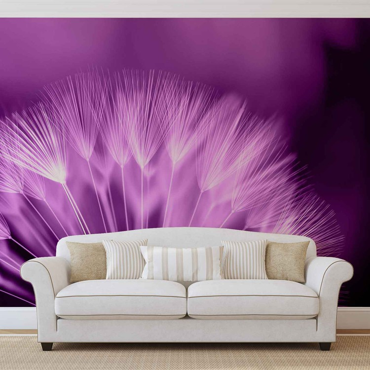 Dandelion Flower Wall Paper Mural Buy at EuroPosters