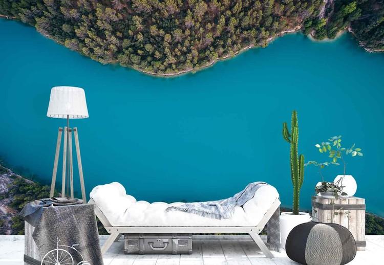 Deep Blue Wallpaper Mural