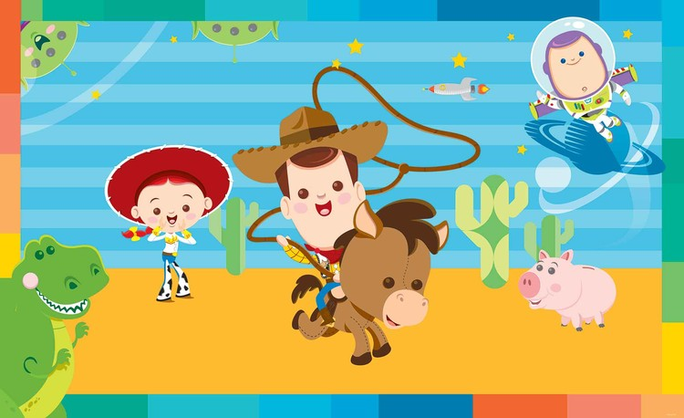 Disney Baby Toy Story Wall Paper Mural Buy at EuroPosters