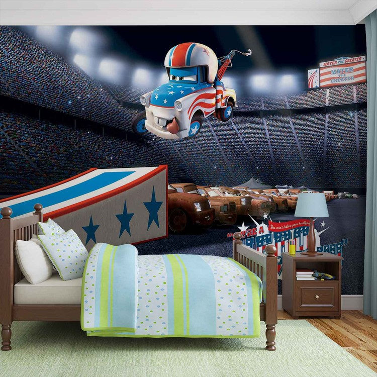 Disney Cars Wall Paper Mural Buy At Europosters