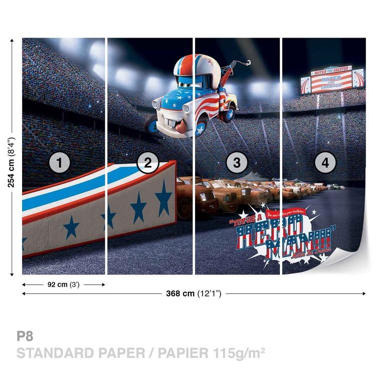 Disney Cars Wall Paper Mural Buy At Ukposters